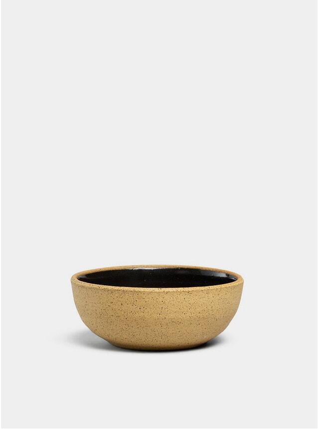 """Black Speckle 6"""" Bowl"""