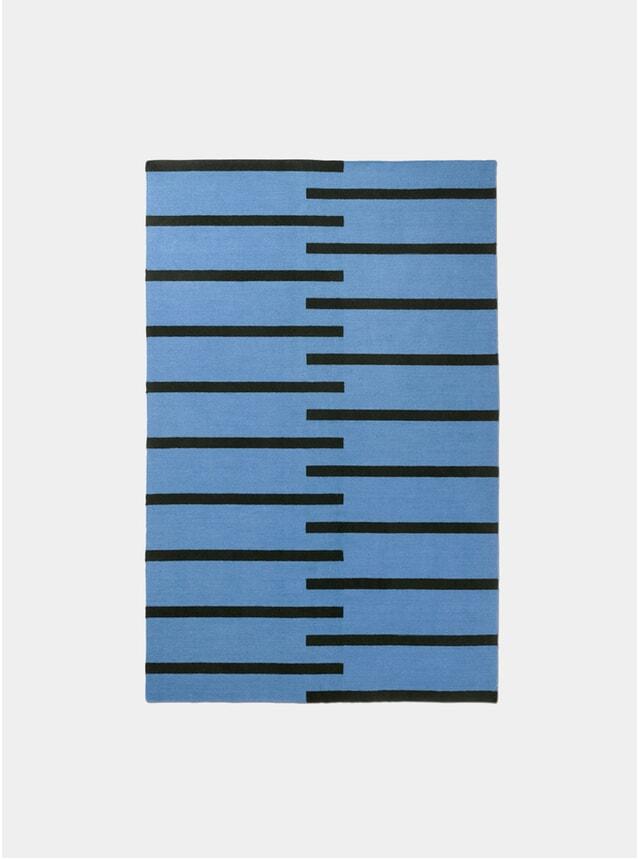 Blue / Black Tiger Rug