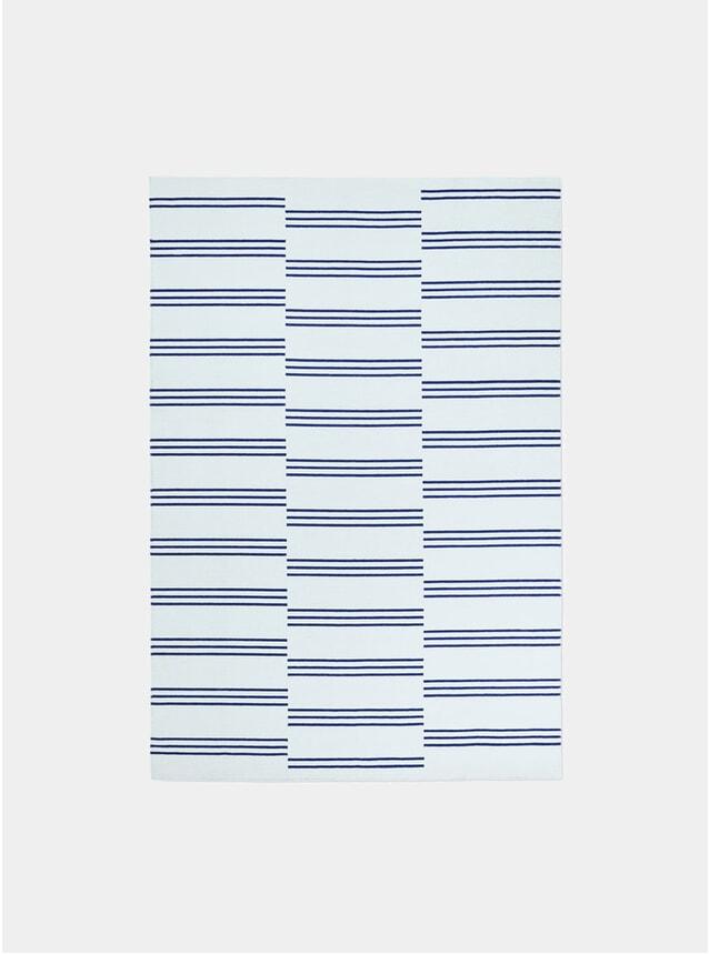 Ice / Blue Stripes Rug