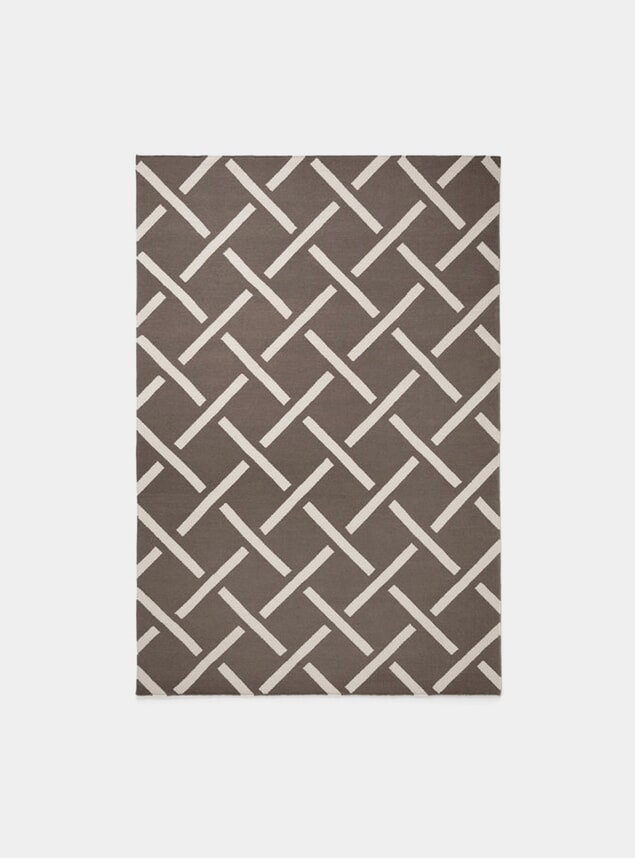 Brown / Beige Link Rug