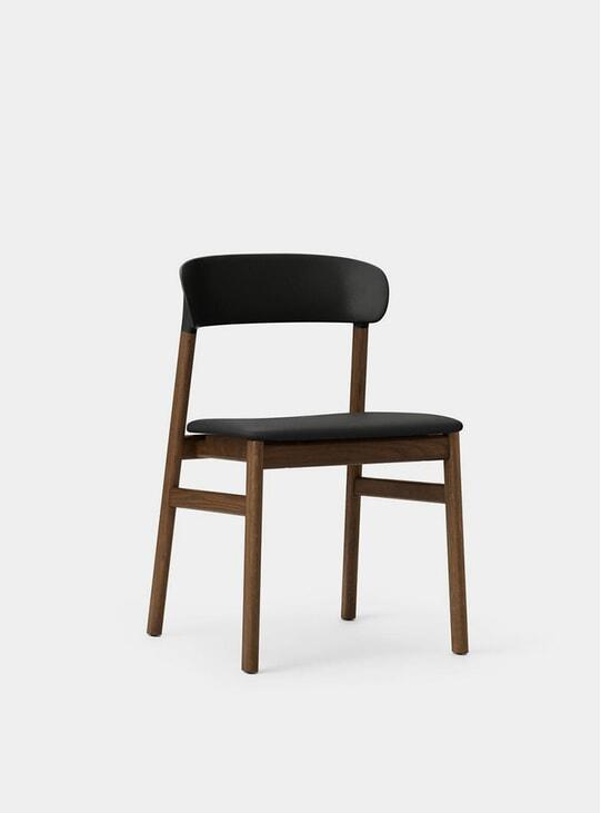 Black Spectrum Leather Herit Chair