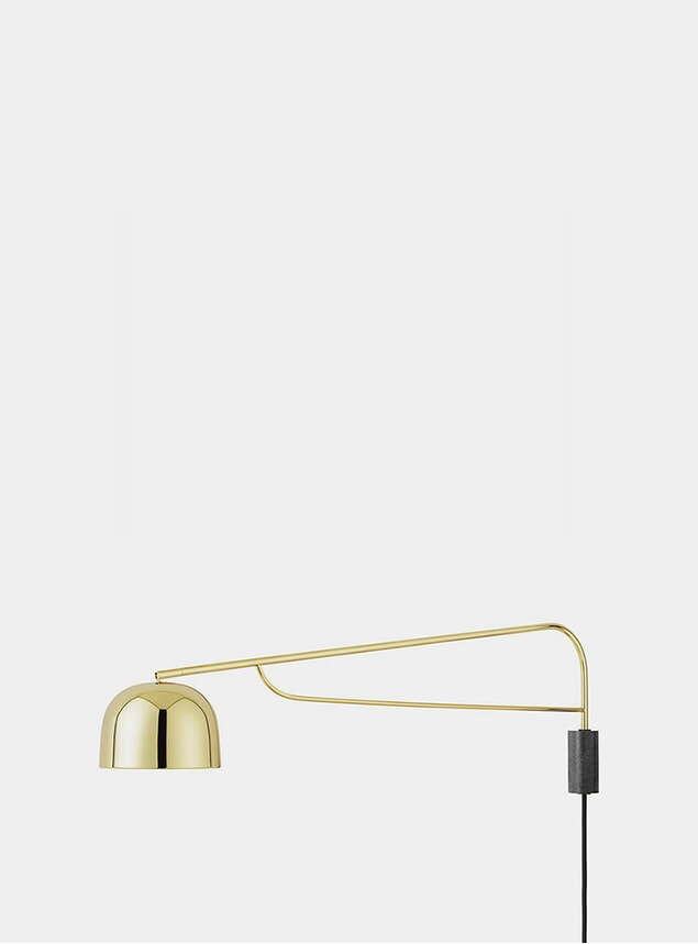 Brass Grant Wall Lamp