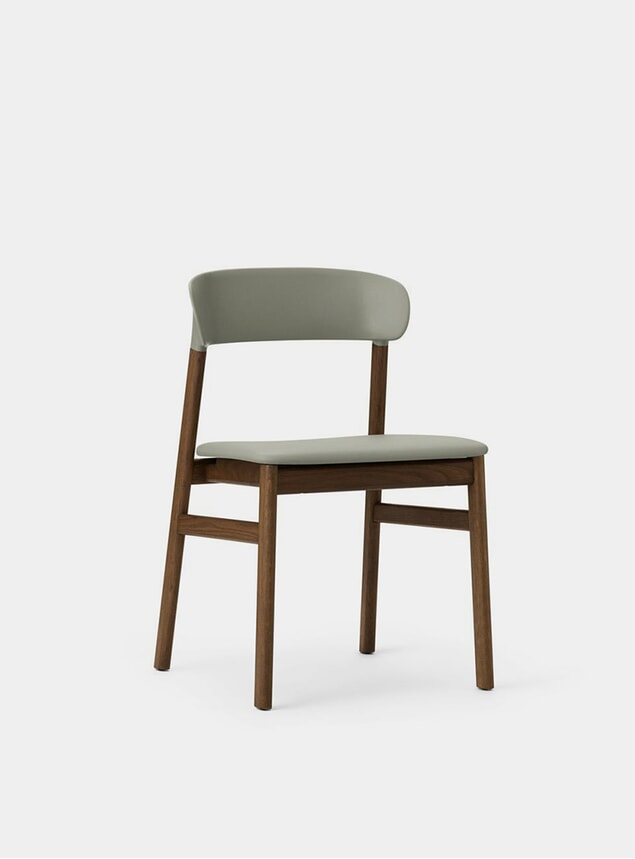 Dusty Green Spectrum Leather Herit Chair