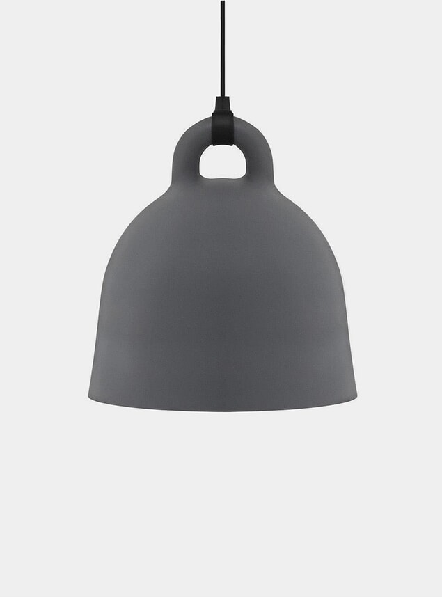 Large Sand Grey Pendant Lamp
