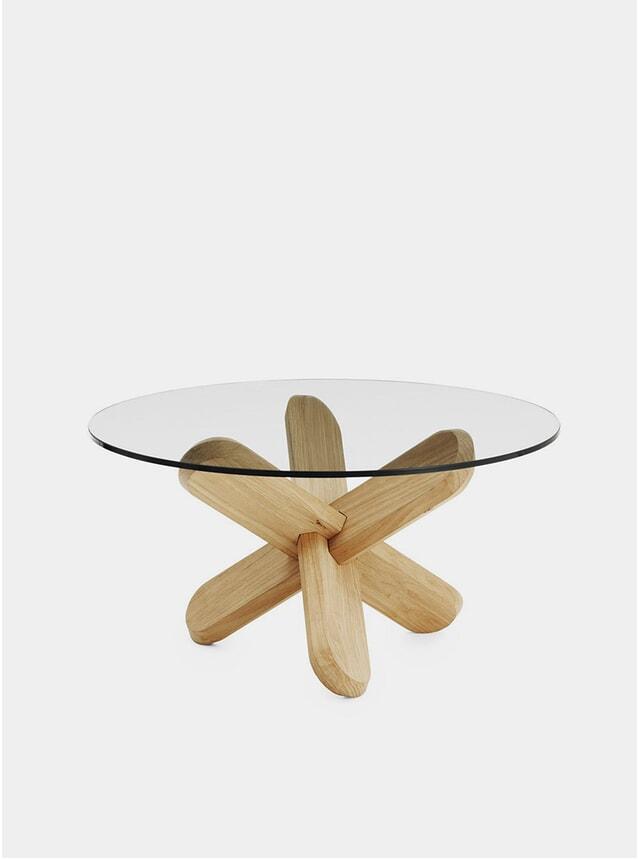 Oak / Glass Ding Table