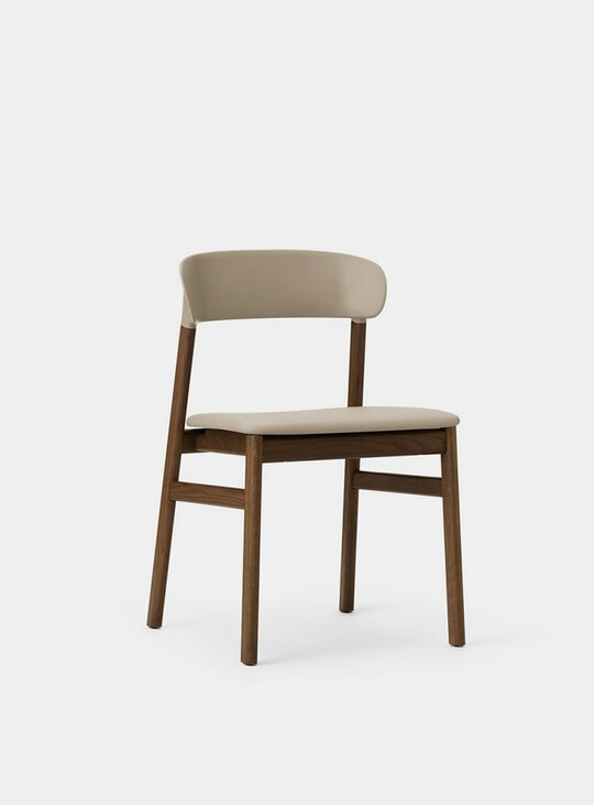 Sand Spectrum Leather Herit Chair