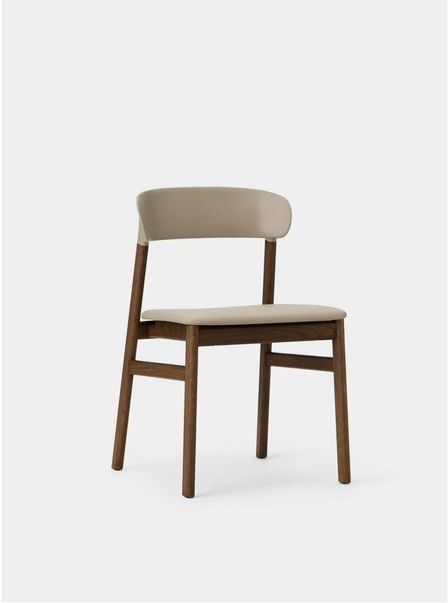 Sand Spectrum Leather Herit Chair