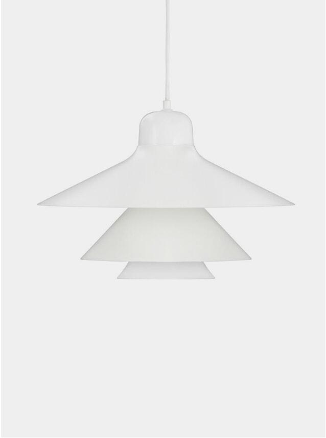 White Ikono Large EU Lamp