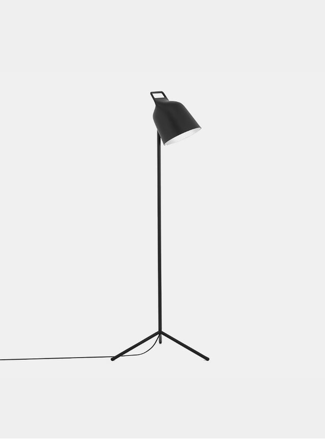 Black Stage Floor Lamp