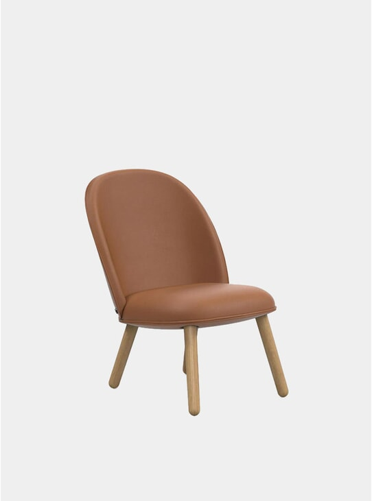 Brandy Leather Ace Loung Chair