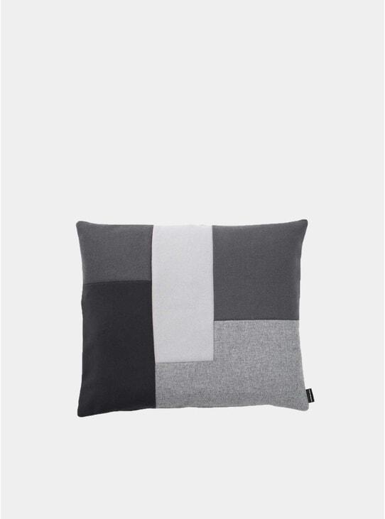 Grey Brick Cushion