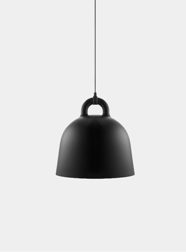 Black Pendant Bell Lamp