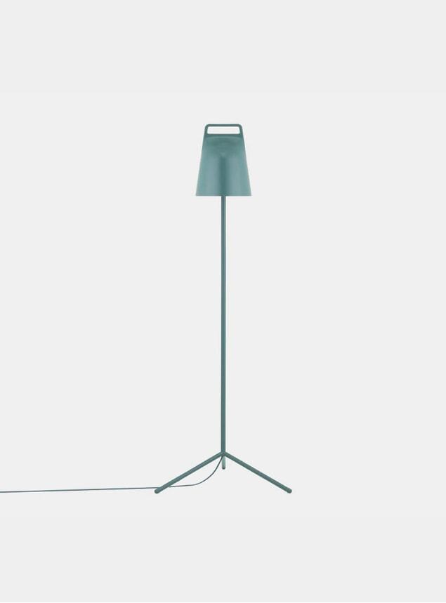 Petrol Green Stage Floor Lamp