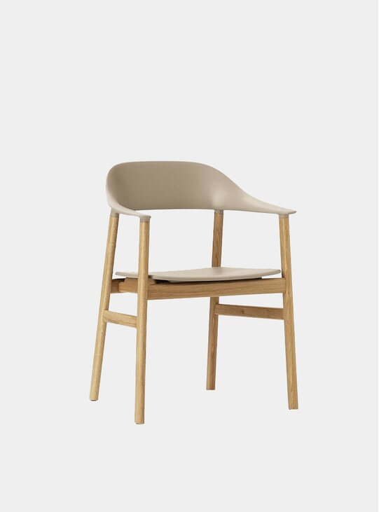 Sand / Oak Herit Armchair