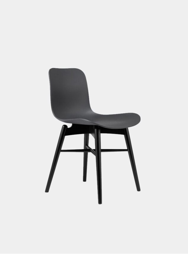 Anthracite Black / Black Beech Dining Chair