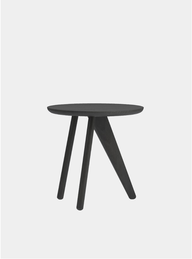 Black Fin Side Table