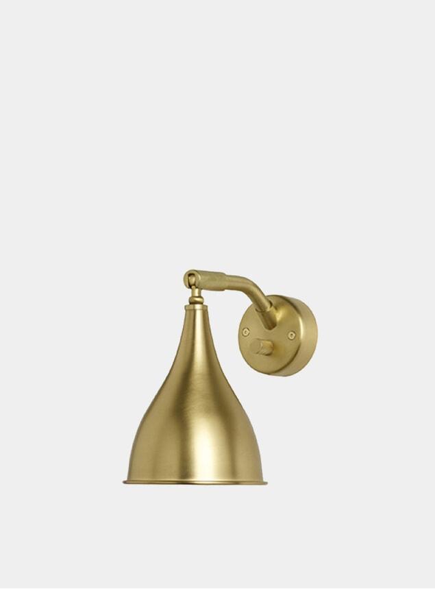 Brass Le Six Wall Light