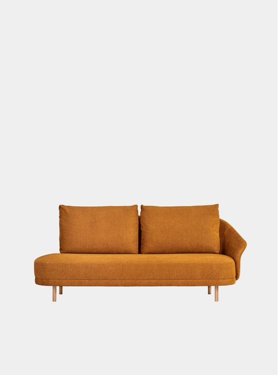 Burned Orange / Natural New Wave Sofa