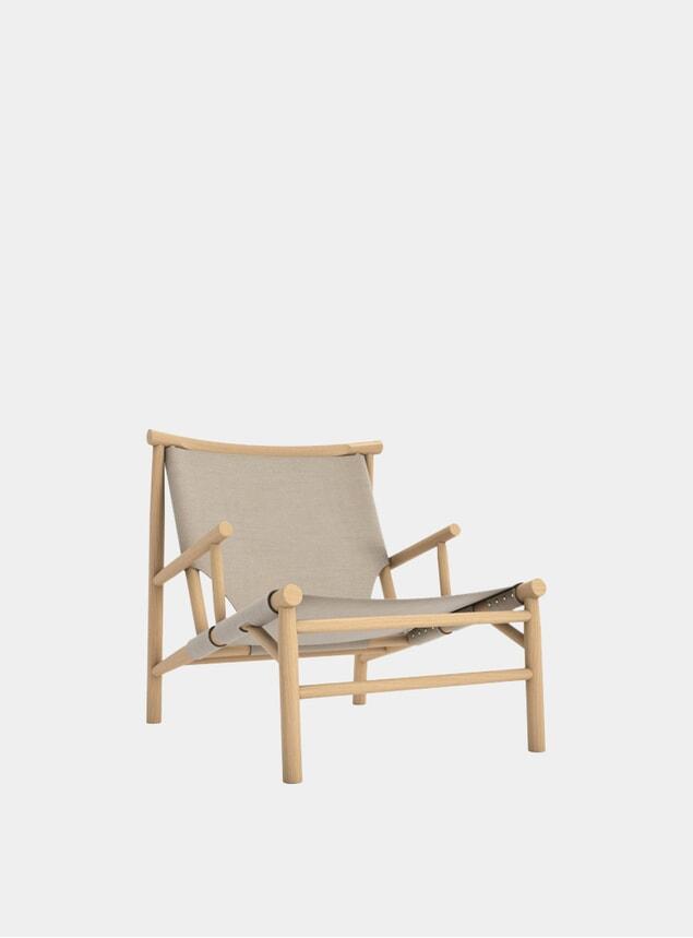 Canvas Samurai Chair