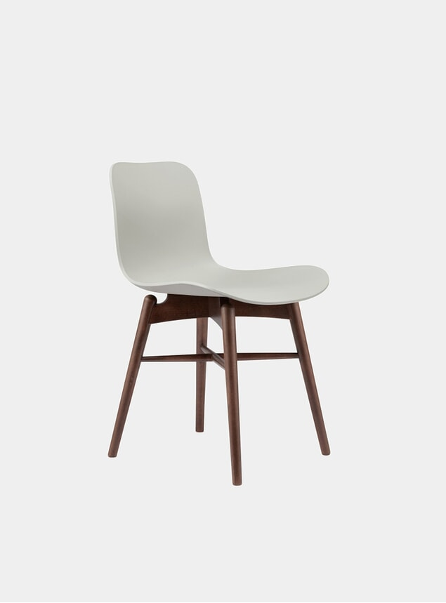 Flint Grey / Dark Stained Dining Chair