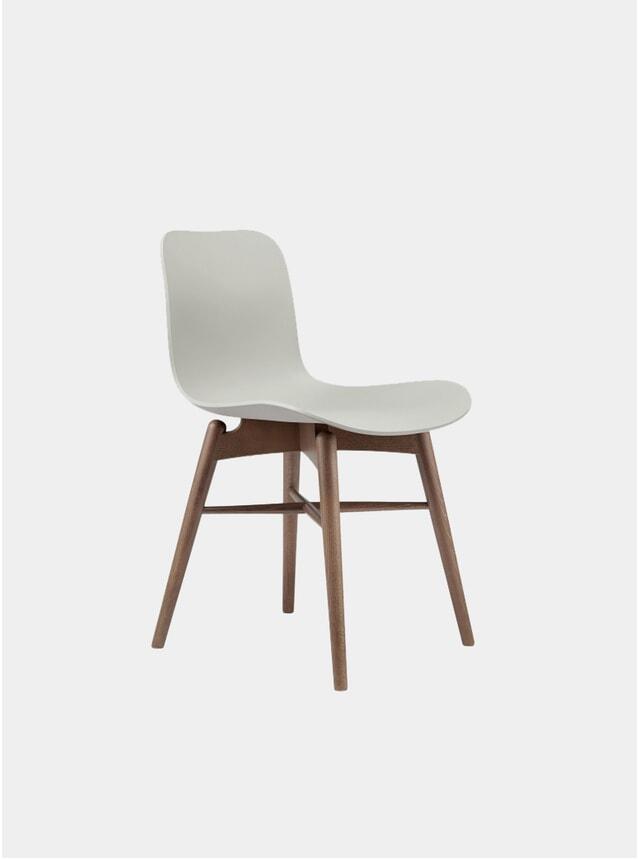 Flint Grey / Smoked Beech Dining Chair