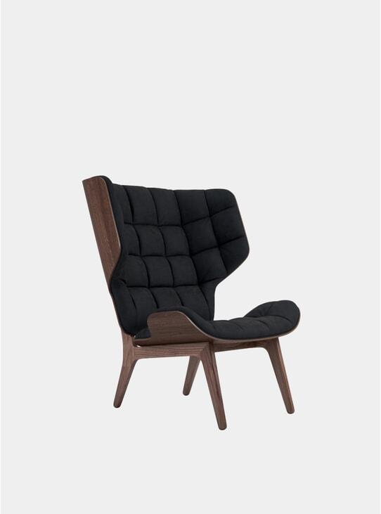 Midnight Blue Velvet / Mammoth Chair