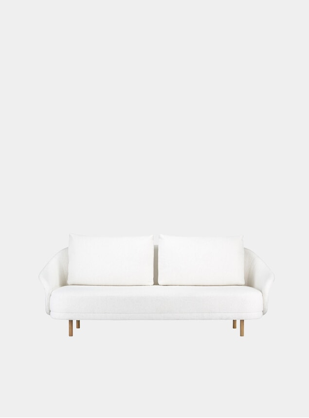 Natural Barnum Two Seater Sofa