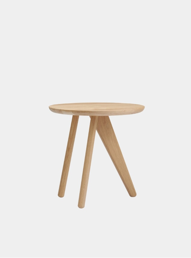 Natural Fin Side Table