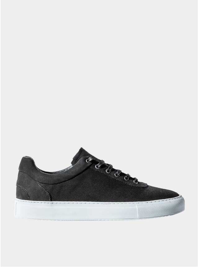 Black Weatherproof No-1 Sneakers