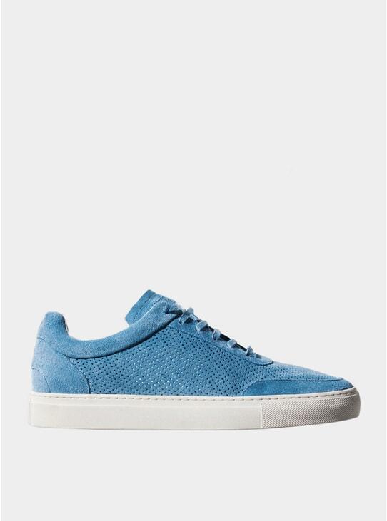 Santorini Blue Breathable No-2 Sneakers