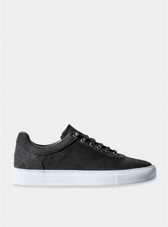 Black No-1 Sneakers