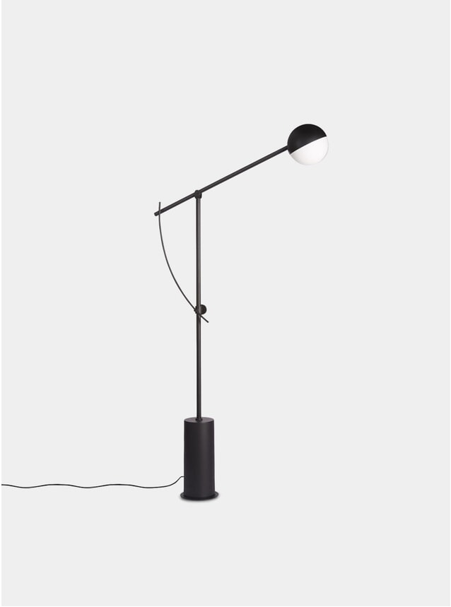 Black Balancer Floor Lamp