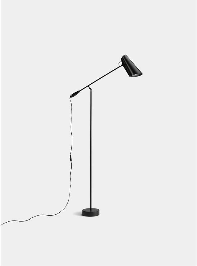 Black Birdy Floor Lamp