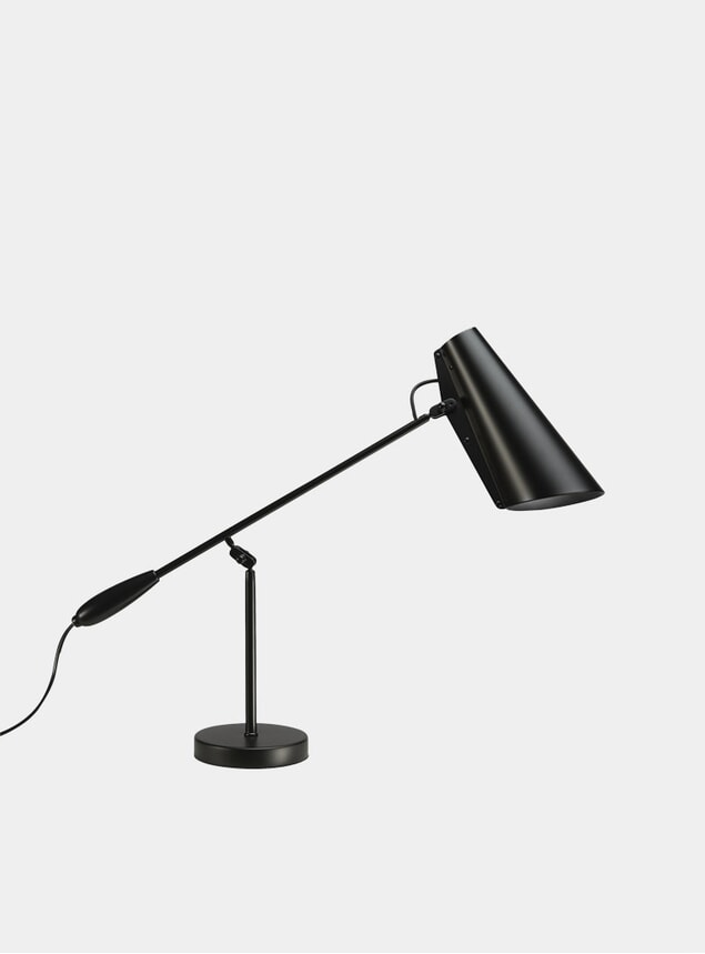 Black Birdy Table Lamp