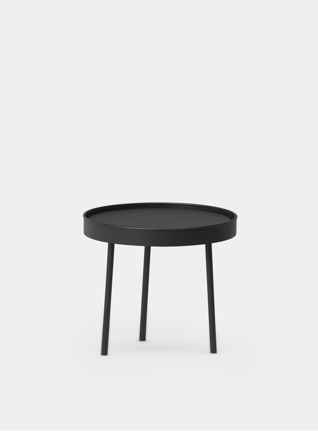 Black Small Stilk Side Table