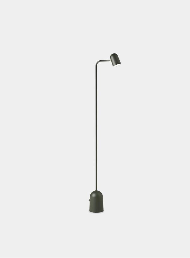 Dark Green Buddy Floor Lamp
