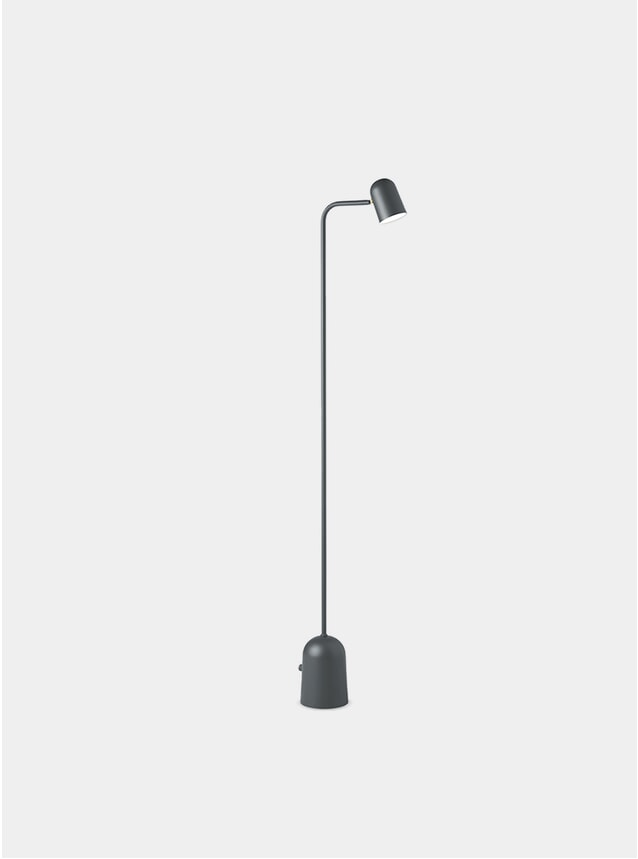 Dark Grey Buddy Floor Lamp