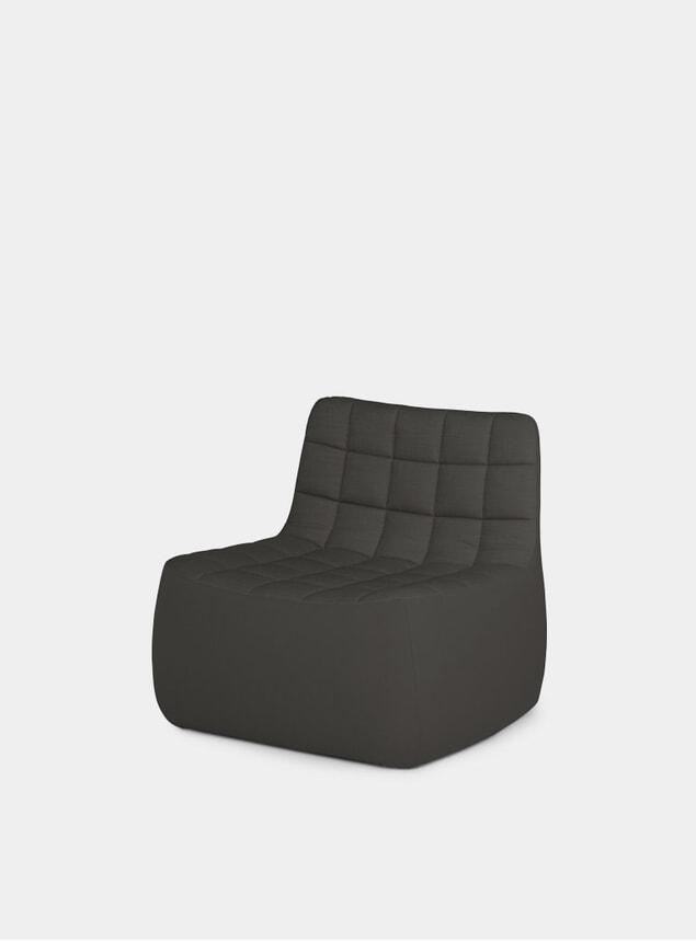 Dark Grey Medium Yam Chair