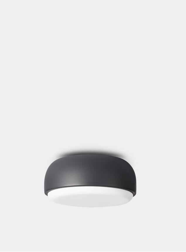 Dark Grey Over Me Ceiling Light