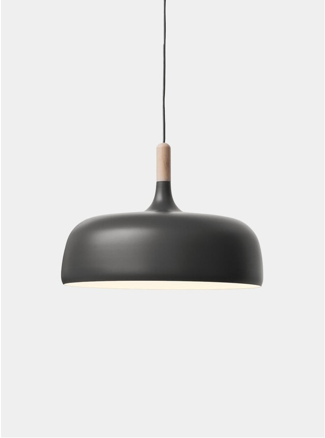 Grey Acorn Pendant Light