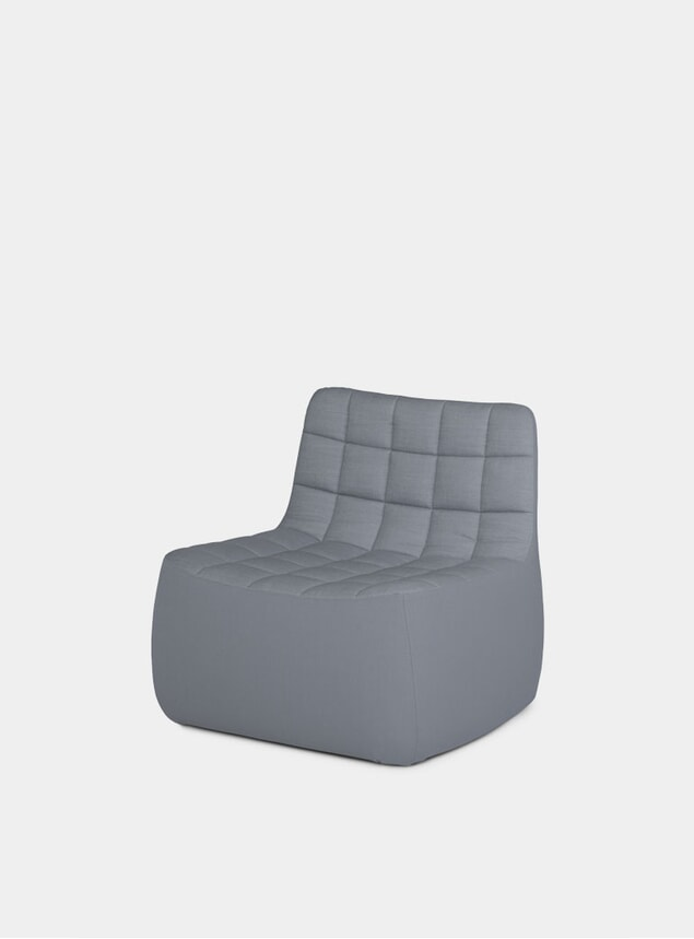 Grey Medium Yam Chair