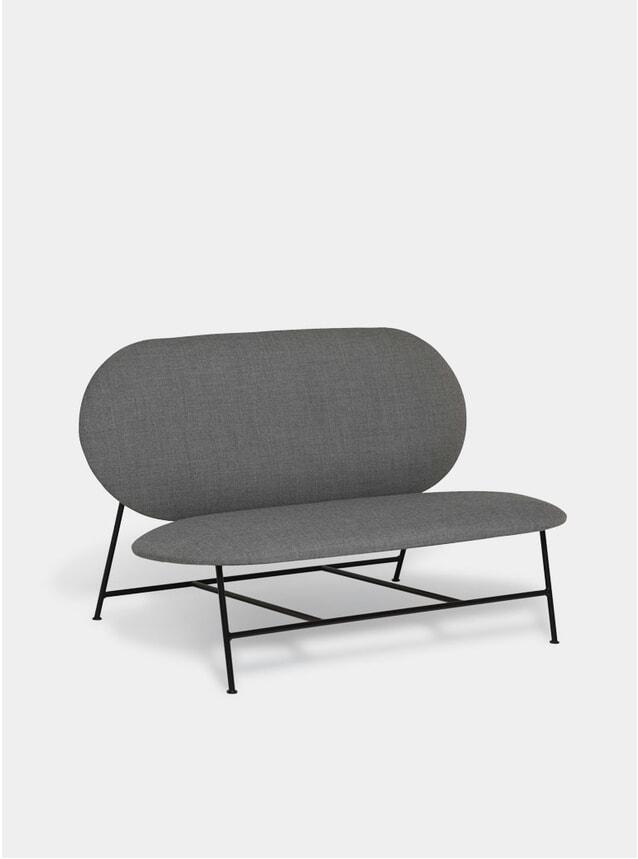 Grey Oblong Sofa