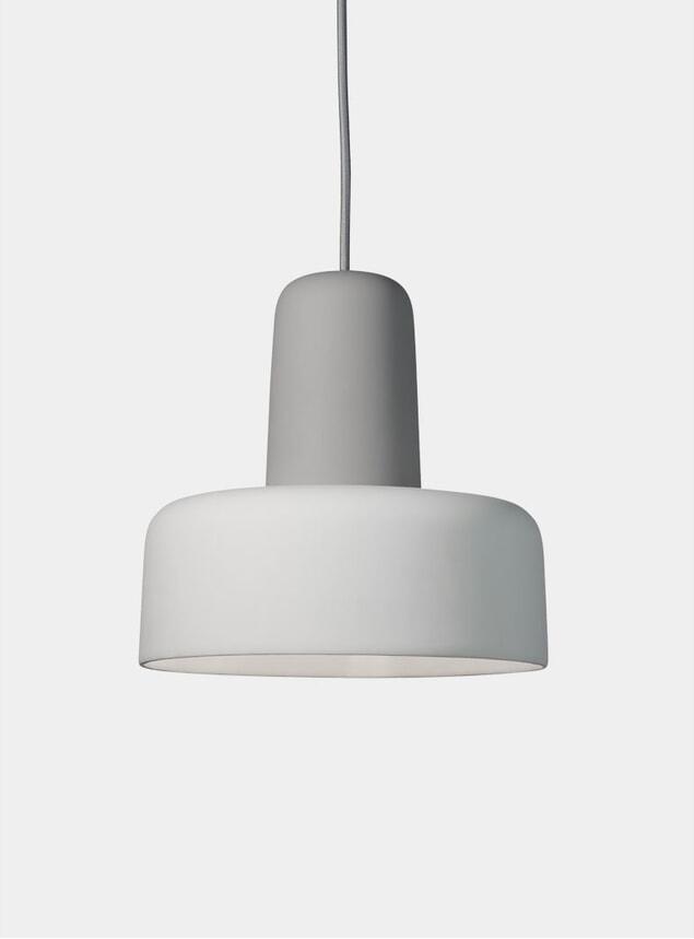 Grey / Off White Meld Pendant Light