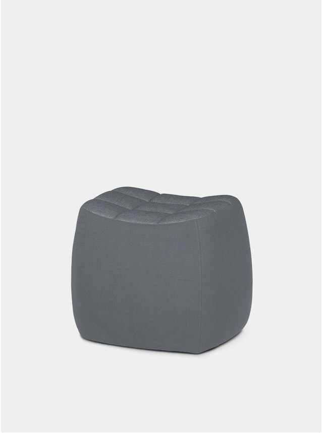 Grey Small Yam Pouf