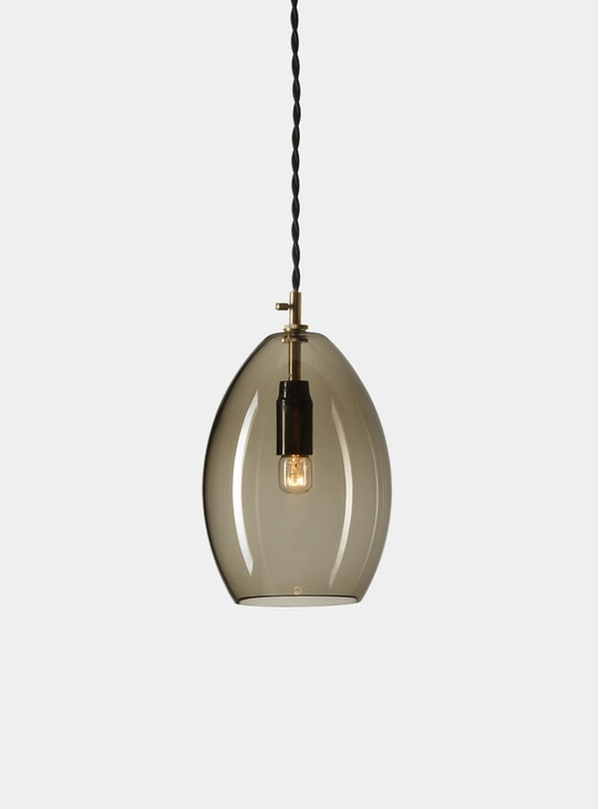 Grey Unika Pendant Light