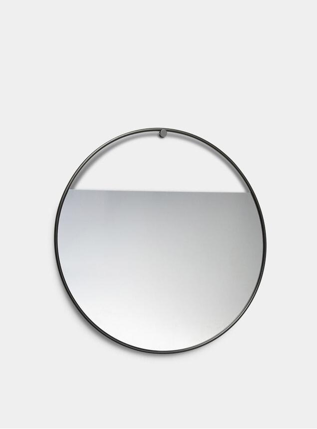Large Circular Peek Mirror