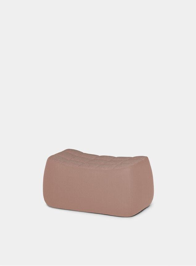 Pink Medium Yam Pouf
