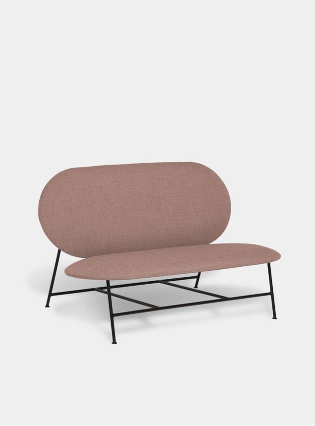 Pink Oblong Sofa