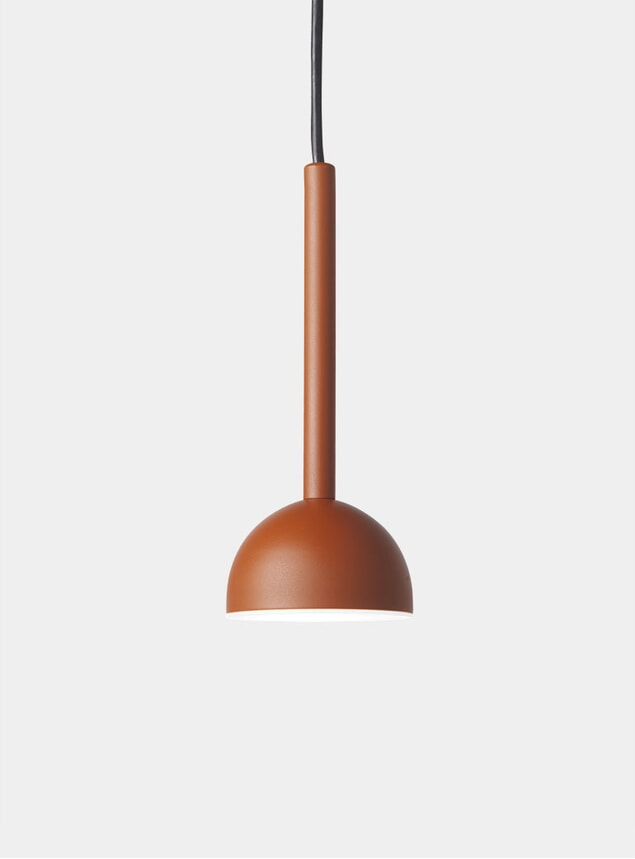 Rust Blush Pendant Light