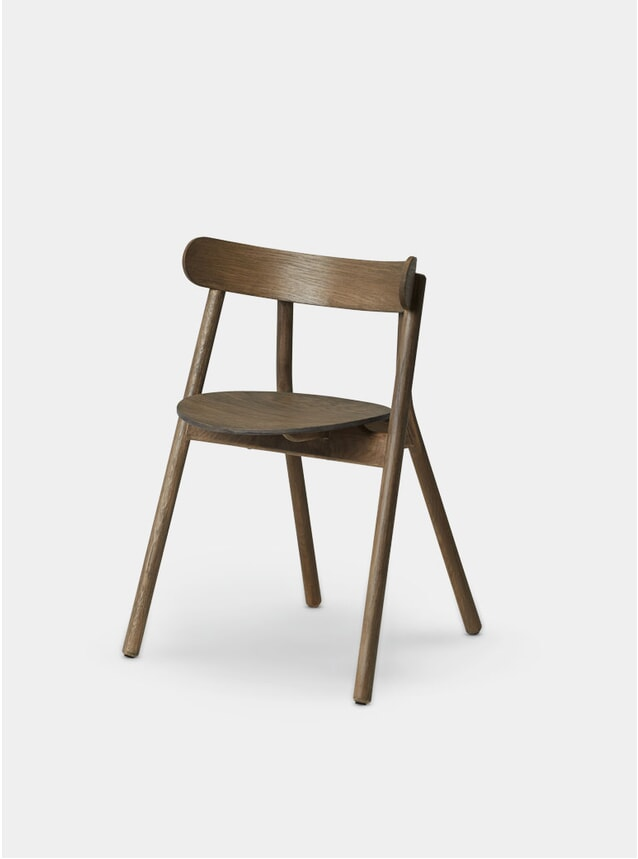Smoked Oak Oaki Dining Chair